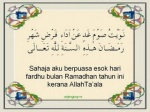 Niat puasa Ramadhan 1 hari penuh